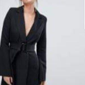 ASOS Dresses - Black Blazer Dress